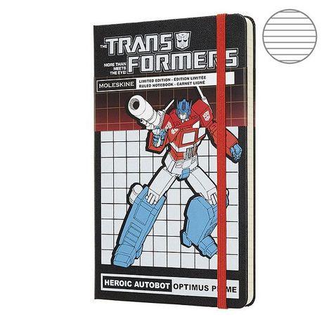 Moleskine Transformers Записна книжка
