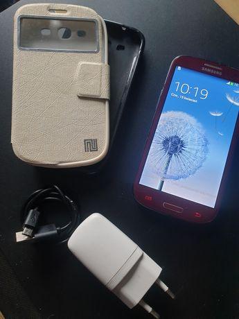 Samsung Galaxy S3 czerwony