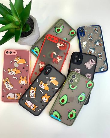 Противоударный чехол Animal Case Iphone 7 8 Plus X XR Xs Max 11 Pro 12