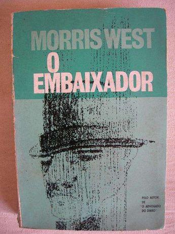 """Livro """"O Embaixador"""" Morris West 1965"""
