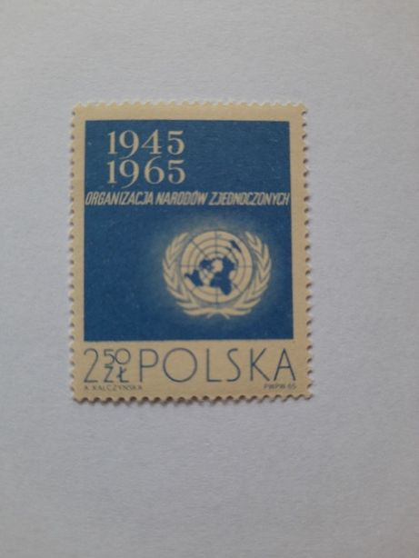 Znaczki polski czyste 1965