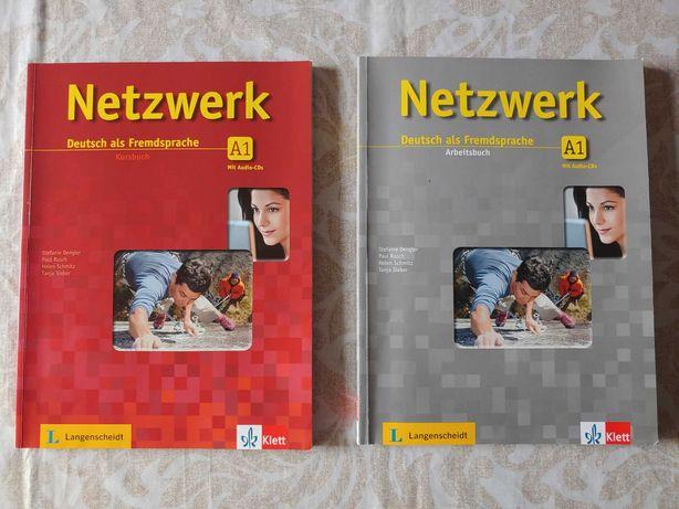 Netzwerk A1 Kursbuch + CD & Netzwerk A1 Arbeitsbuch + CD