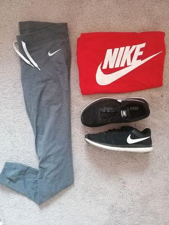 Spodnie leginsy Nike ciemny szary XS/S