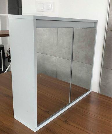 Szafka łazienkowa wisząca z lustrem 48x45cm