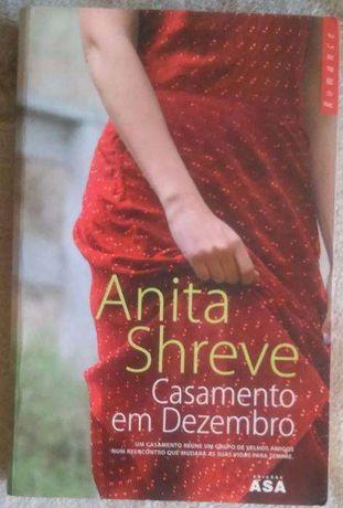 """Livro """"Casamento em Dezembro"""" de Annita Shreve"""