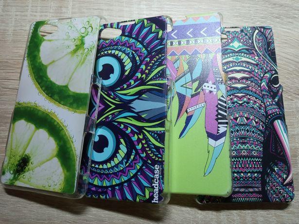 Набор стильных чехлов/ бамперов для телефона Sony Experia Z1 Compact