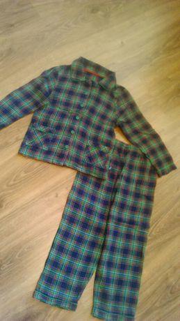 Bawełniana piżama na 4-5 lat