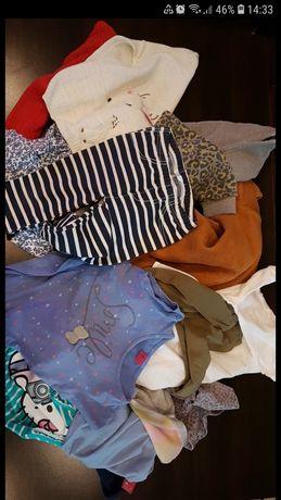 Paka, paczka, komplet ubrań dla dziewczynki 98-104