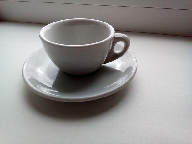 - Винтаж! Италия! Пара старинных кофейных чашечек с блюдцами. По 2 шт.