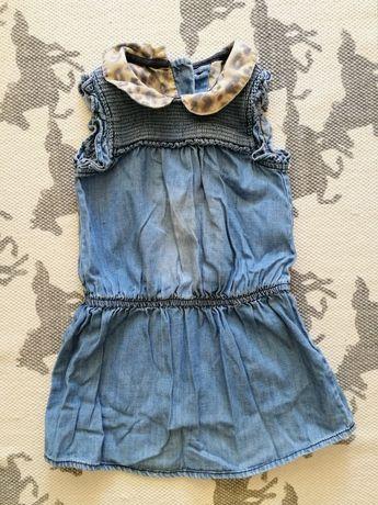 Sukienka dżinsowa Next roz. 92