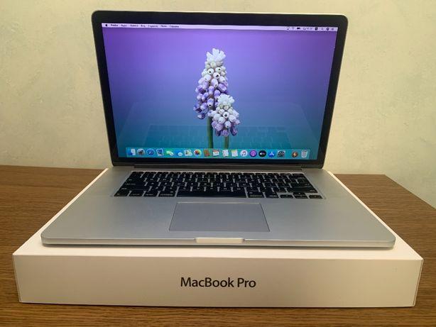 "MacBook Pro Retina 15"" 2015 2,5 GHz і7 16 gb 512 SSD MJLT2 80 циклів"