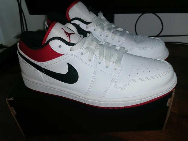 Jordan 1 Low White gym Red 41