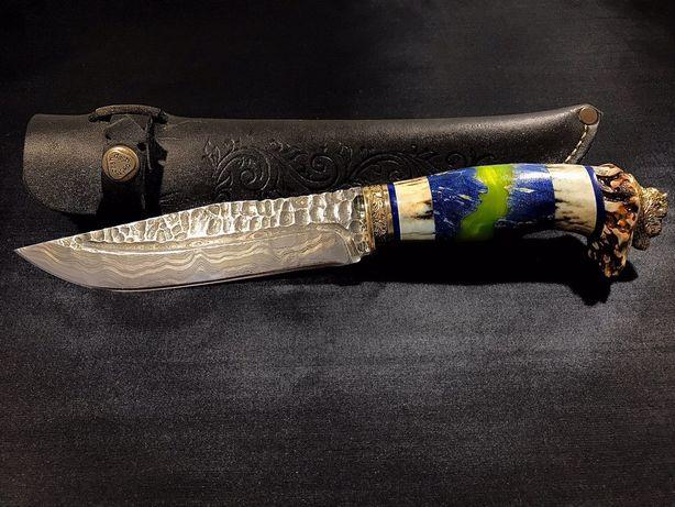 Эксклюзивный нож ручной работы «Бык»