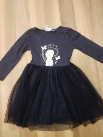 sukienka kraina lodu roz.104/110