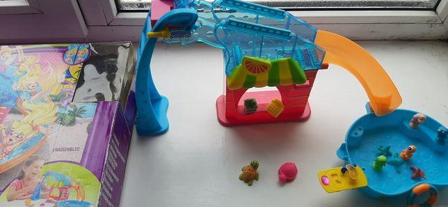 Бассейн для кукол пластмассовый для младших девочек