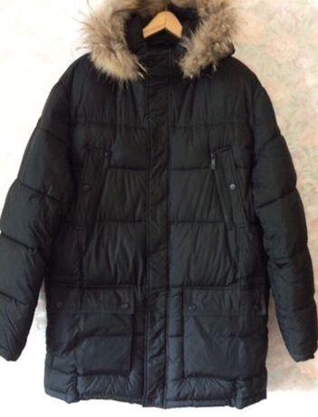 Куртка зимняя мужская р. 54 удлиненная