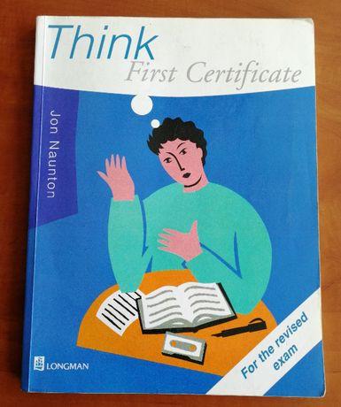 Think first Certificate - podręcznik