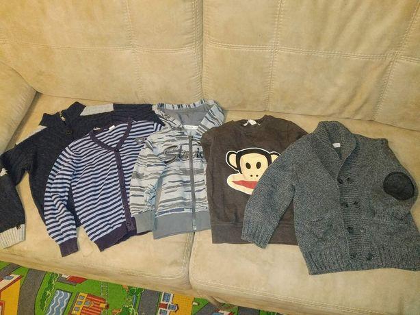 Пакет вещей на мальчика, рост 110, 2-3-4 года, Реглан, кофта, пуловер
