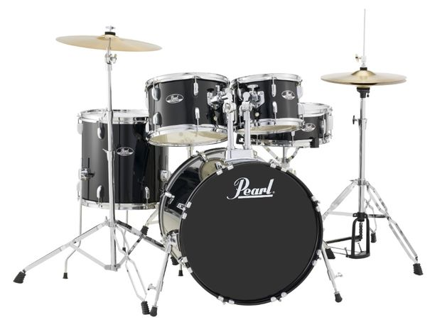 Nowa kompletna perkusja Pearl talerze statywy stołek sklep Pszczyna