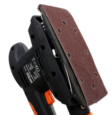 Szlifierka oscylacyjna 450W do gipsu drewna mocna
