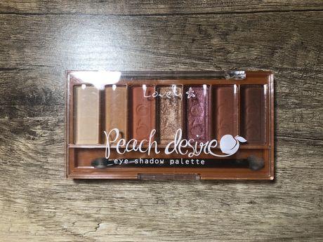 Paletka cieni Lovely Peach desire paleta