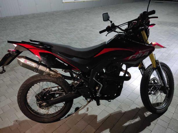 Мотоцикл ендуро мотард Forte ft 250 gy cba форте сба 250 цба обмін