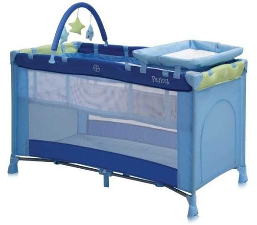 Манеж Lorelli Penny 2 Plus Blue&Green (10080301674)