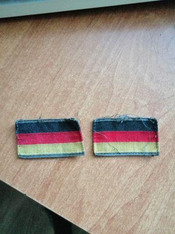 Oryginalne naszywki z niemieckiego munduru bundeswehry