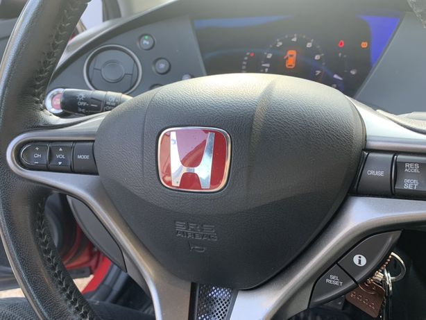 Honda civic type r 2010 г подушка безопасности в руль