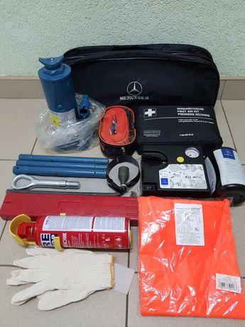 Mercedes Sprinter WV Crafter Домкрат компрессор аптечка трос крюк знак