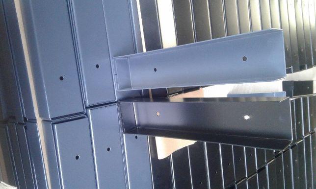 łącznik uchwyt ceownik podmurówki podmurówka do siatki paneli