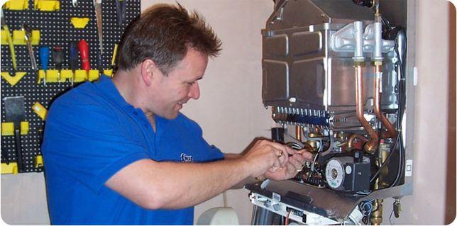 Промывка теплообменников газовых котлов и колонок.