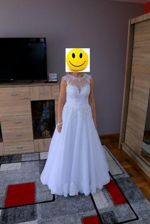 Suknia ślubna biała rozm.36