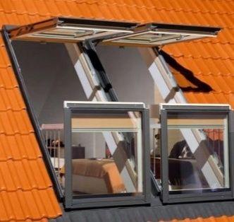 Okna dachowe wraz z montażem