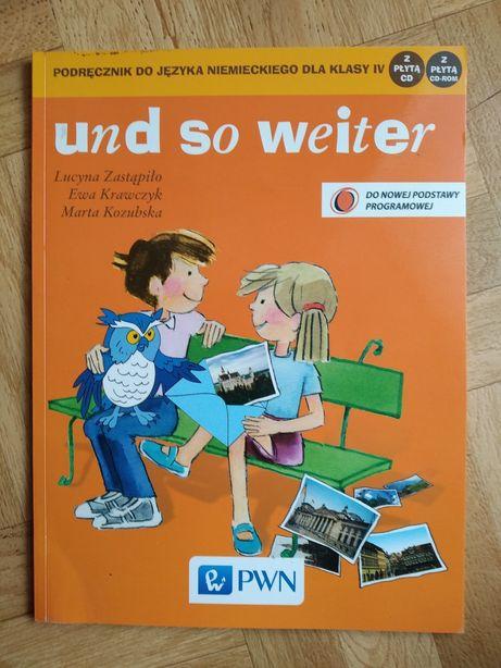 Und so weiter , podręcznik do języka niemieckiego dla klasy 4