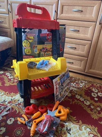 Nowa zabawka warsztat do zabawy dla dzieci dziecka okazja