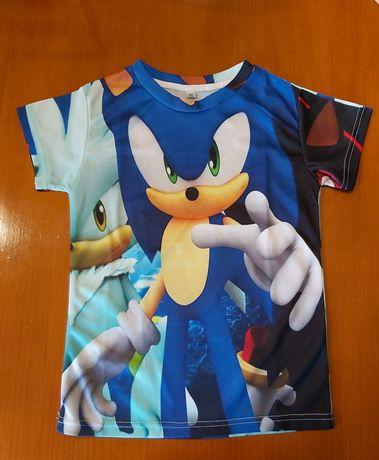 Tshirt do Sonic NOVA