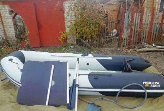 Лодка  пвх Ривьера 360