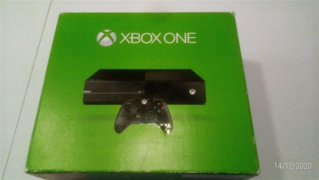 Xbox One 1TB - Consola Usada Com Caixa Original e Todos os Cabos