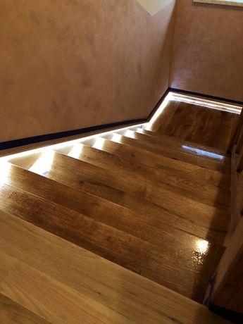 Renowacja schodów , stołów , krzeseł , drzwi