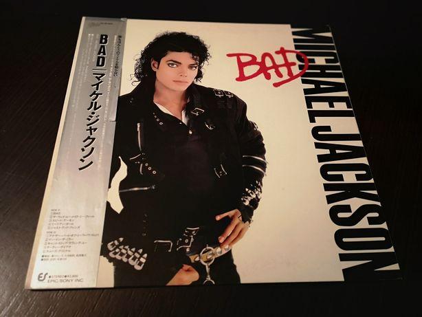 MICHAEL JACKSON- japan OBI vinyl, płyta winylowa