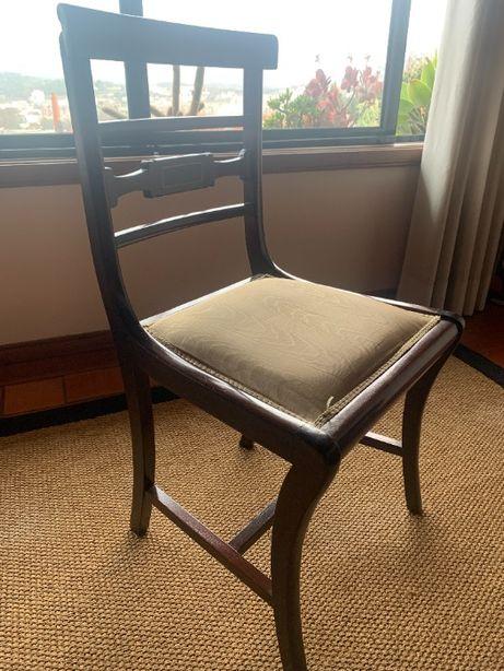 8 cadeiras estilo imperio