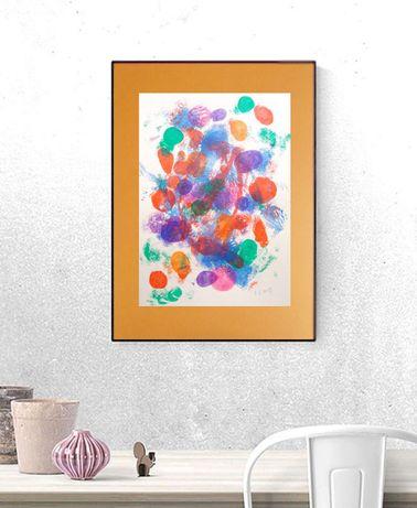 nowoczesna grafika na ścianę, abstrakcja do loftu, abstrakcyjny rysune