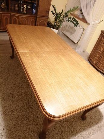 Stół dębowy duży rozkładany
