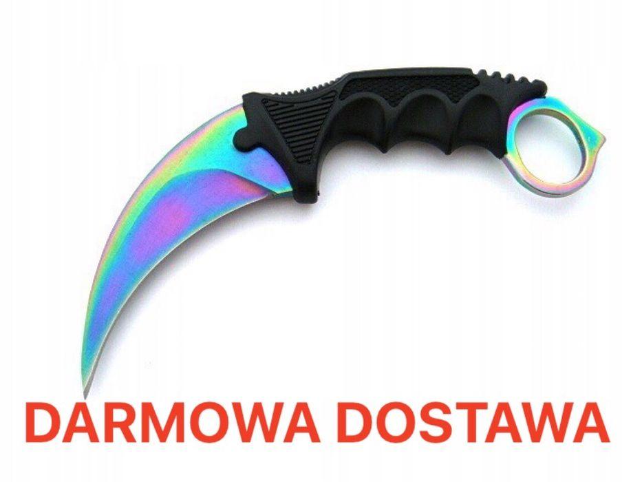 HIT ! Nóz karambit fade rainbow CS GO Wrocław - image 1