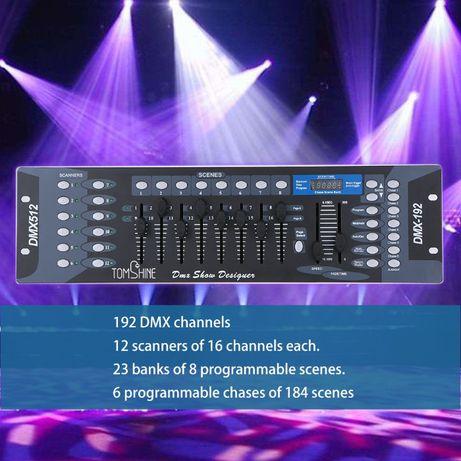 Konsola DJ DMX 192 DMX 512 WI-FI Sterowanie oświetleniem