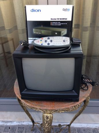 Televisão já com anos