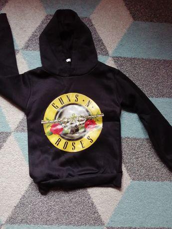 Bluza z kapturem Guns'n Roses