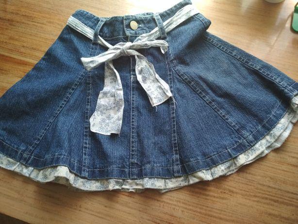 Юбка джинсовая 6 лет