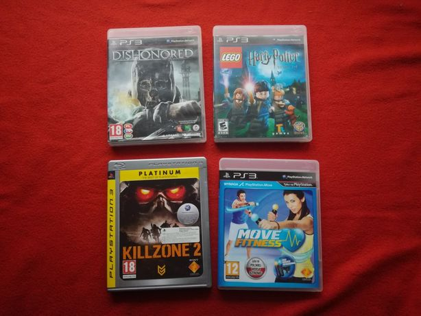Gry Dishonored LEGO Harry Potter Killzone 2 Move Ps3 PlayStation 3